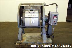 Used- Paul O. Abbe Trunnion Mounted Jar Mill, Model 5