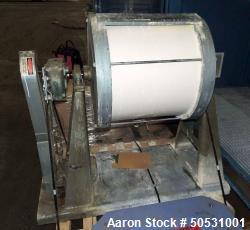 Used- Paul O. Abbe Ceramic Jar Mill, Model #5A, 4.8 Cubic Feet (36 Gallon).