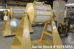 d- Paul O Abbe One Piece Ceramic Mill, Model OPCM-67. 250 liter, 19% alumina content. Approximate 24...