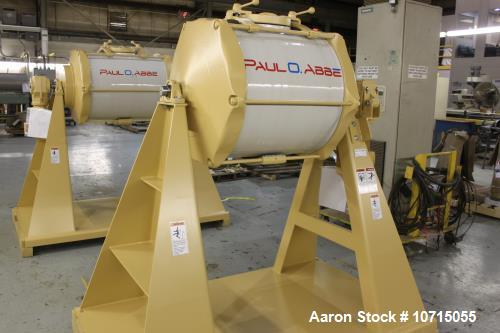 "Unused- Paul O Abbe One Piece Ceramic Mill, Model OPCM-67. 250 liter, 19% alumina content. Approximate 24.8"" diameter x 31.9..."