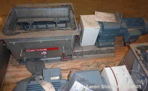 Used Gericke Nibbler Nbs 300 450 Stainless Steel