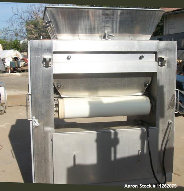 Used- Twin Roll Lump Breaker.