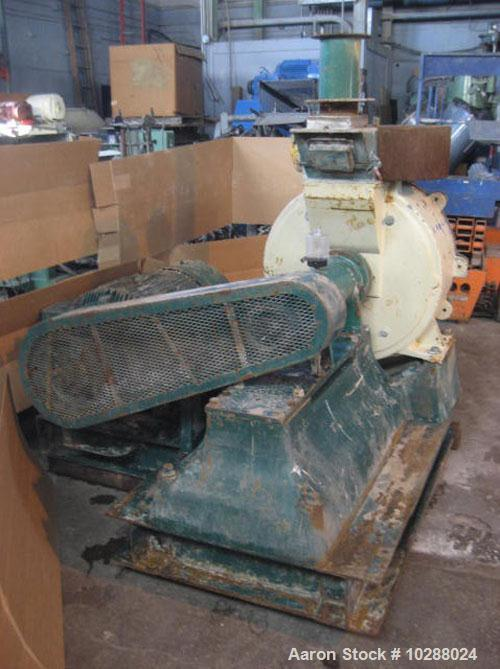 Used- Carbon Steel Schutz-O'Neil Model 28H Air Swept Pulverizer