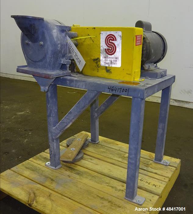Carbon Steel Grinding Company New Zealand: Used- Sturtevant Sample Grinder, Model O-6, Carbo