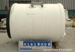 Used- Paul O Abbe Ball Mill, brick lined