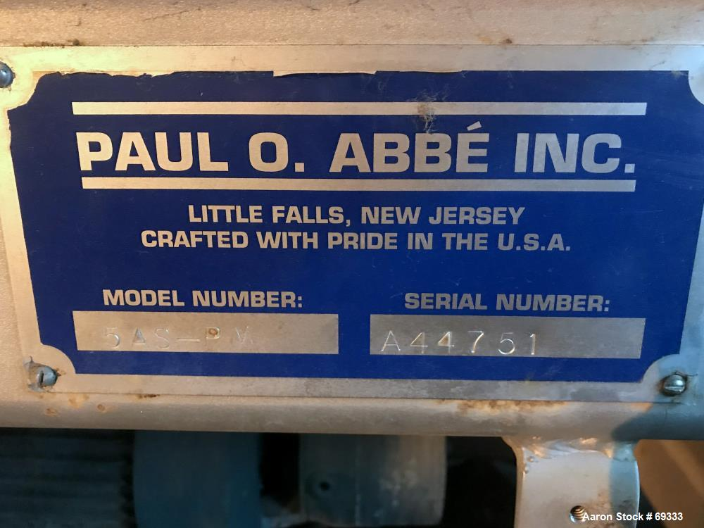 Used- Paul O Abbe Pebble Mill, Model 5AS