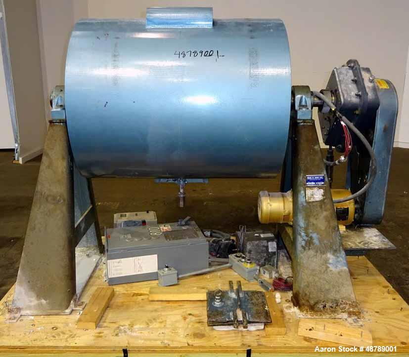 Used- Paul O. Abbe Ball Mill, Model 6PM, Brick Lined.