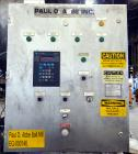 Used- Paul O. Abbe Pebble Mill, Model #1, 304 Stainless Steel Product Contact.