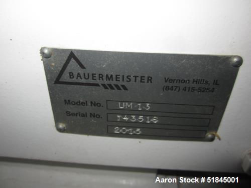 Used-Bauermeister UM 1.3 Mill