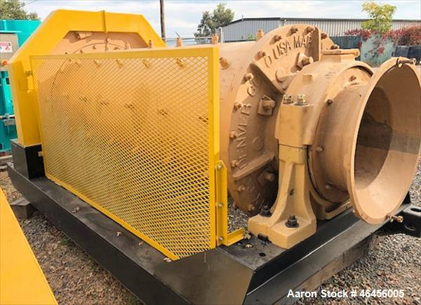 Used- Marcy 3' x 8' Ball / Rod Mill