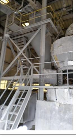 "Used- Raymond Roller Mill, Model 60568, 60"""