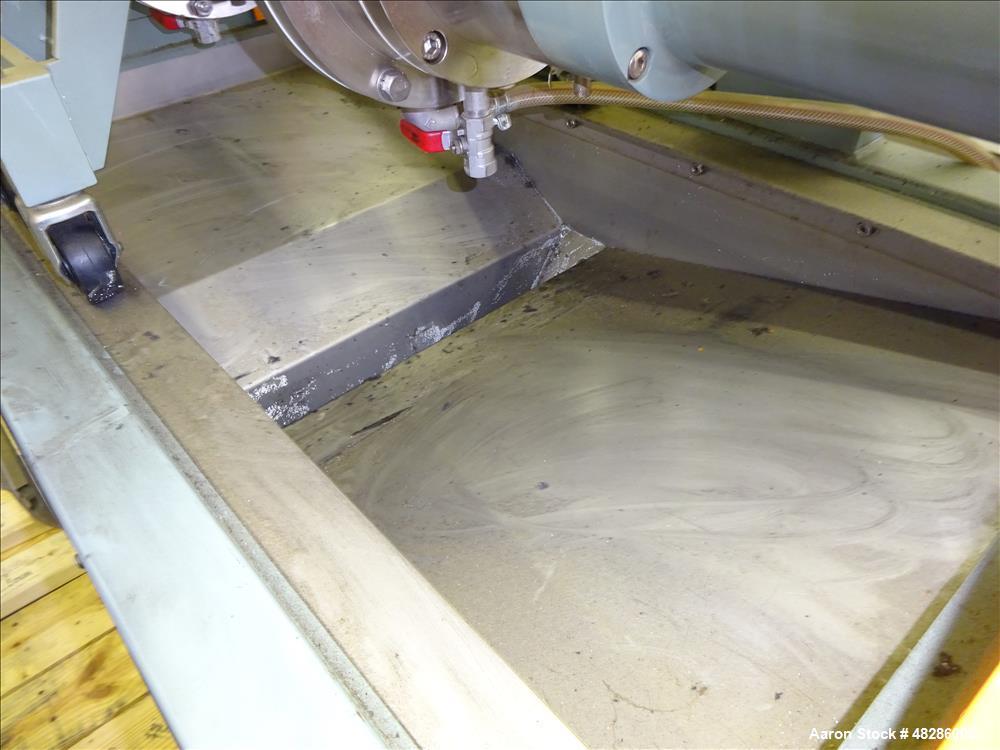 Used- Aimex Ultra Viscomill, Model UVM-5. 5 Liter working capacity (6.5 total)