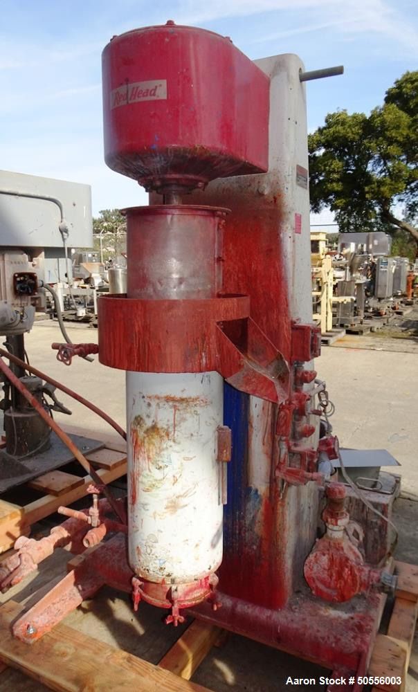 """Used- Chicago Boiler """"Red Head"""" Model 16-P Vertical Grinding Mill."""