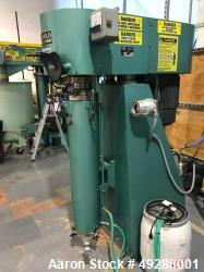 Used- Schold Machine High Speed Vertical Media / Shot / Sand Mill. 30 hp motor. Max press. 125 lbs. Speed. 900/1800 rpm. Rep...