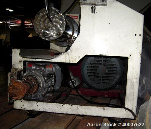 Used- Stainless Steel Netzsch Horizontal Media Mill, Model LME1/J1