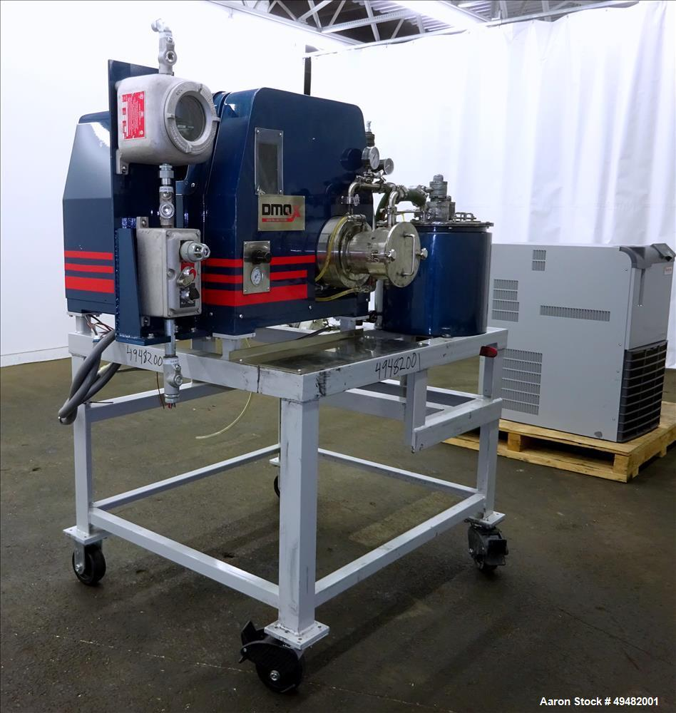 Used- Union Process Lab Machine Bead Milling System, Model DMQX-07.