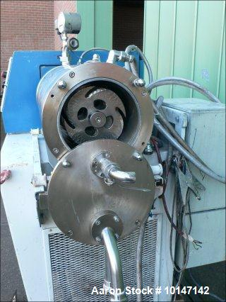 "Used- WAB Horizontal Sand Mill ""Dyno-Mill""."