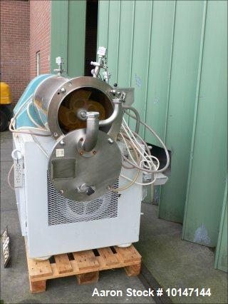 "Used- WAB (Willy A Bachofen)  Horizontal Sand Mill ""Dyno-Mill""."