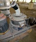 Used- Mikro Air Classifying Mill, Model CX30ACM, Carbon Steel. Approximate 30