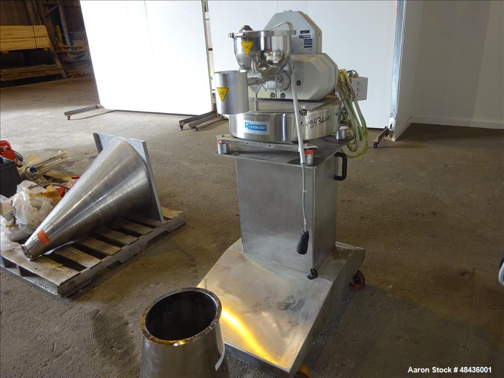 Used- F. Aoustin Malaxeur Extrudeur / Extruder Twin-Screw Continuous Mixing/Extr