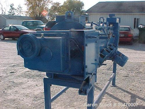 Used-Littleford Model KM 600 D Carbon Steel Continuous Mixer