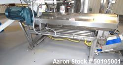 """Used-GEM Equipment Continuous Mixer, Stainless Steel. Clamshell non-jacketed chamber approximate 16"""" diameter x 65"""" long. Si..."""