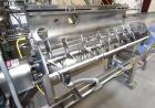 Used-GEM Equipment Continuous Mixer, Stainless Steel. Clamshell non-jacketed chamber approximate 16