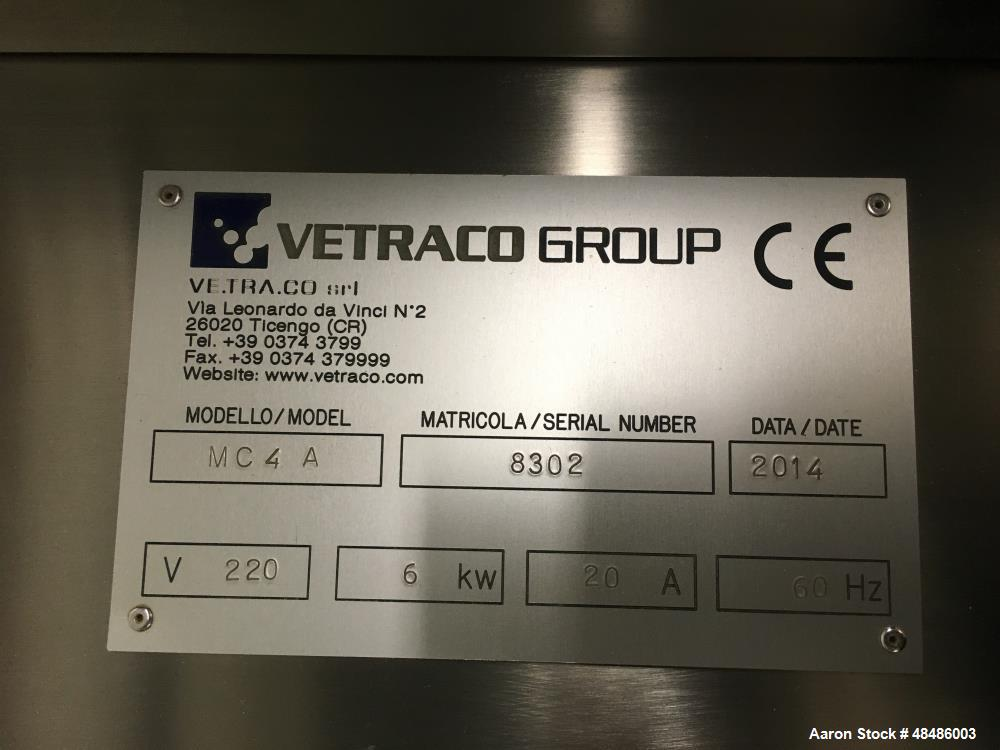 Used- Vetraco, Model MC 4 A Cosmetic Powder Blender