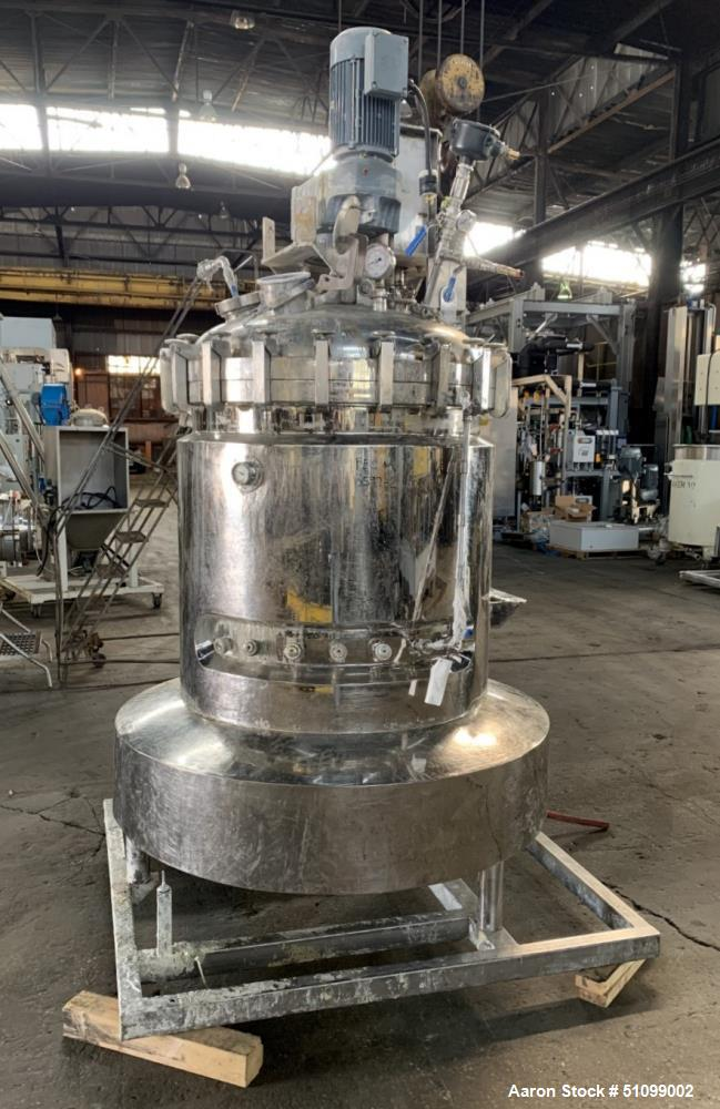 Used- 200 Gallon BV Speciaal Roestvrijstall Industrie Twin Motion Kettle