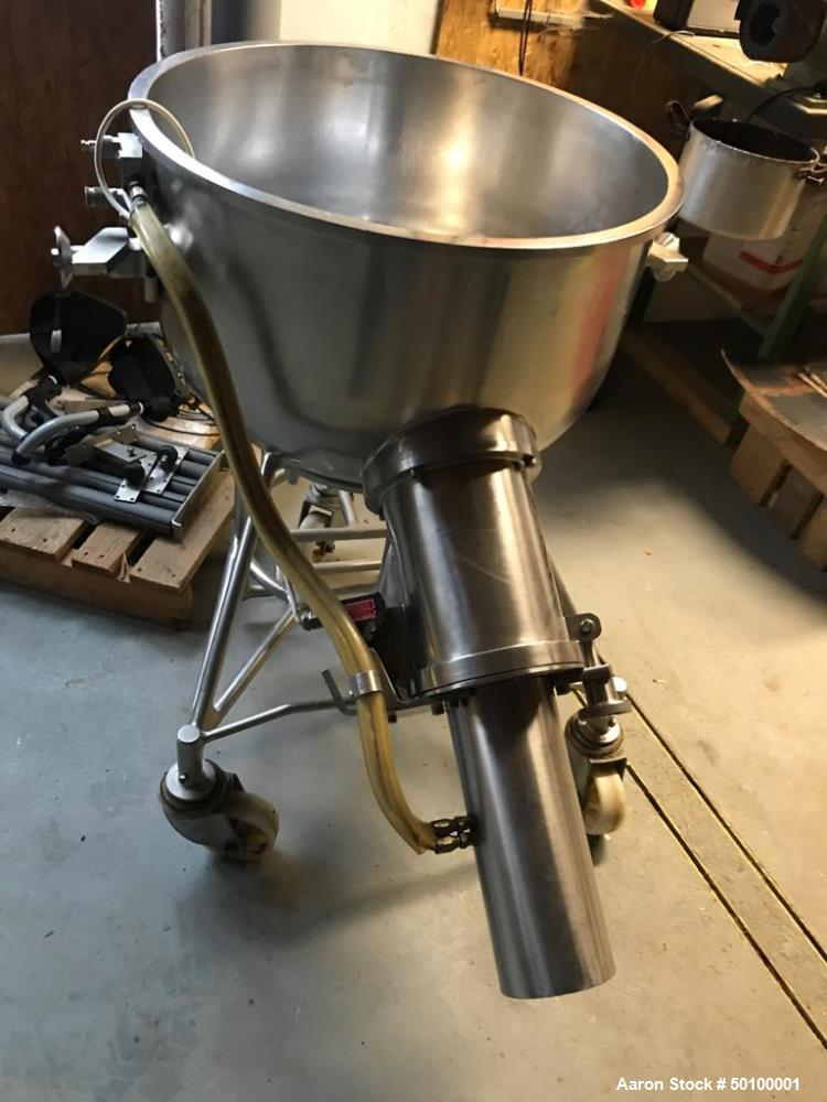Used- Collette Type GRAL-150 Single Shaft Mixer