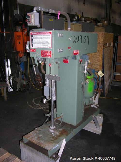 """Used- Myers Disperser, Model L775-3, stainless steel shaft and blade, 28"""" long shaft, 3"""" diameter blade, 3 HP 230/460 Volt X..."""