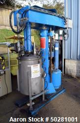 Used- Morehouse Cowles Dual Shaft Dissolver, Model Visco-Max 2I-24.