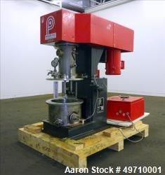 Used- Premier Mill Prem-A-Mix ESD Dual Shaft Disperser, model ESD/1/2, 316 stain