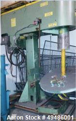 Used- Schold Disperser, Bow-Tie Blade, 100 HP motor. Variable Speed: 22/60/500/1375. No change cans. Year. 1997.