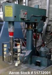 Schold Alta Velocidad Dispersor, 15 HP, velocidad 48 -260 rpm. No change can con Mixer. Aire encima Elevación del aceite. s/...
