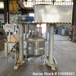 Used- 65 Gallon Twin Motion Vacuum Mixer