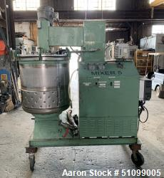 Used- 95 Gallon Twin Motion Vacuum Mixer