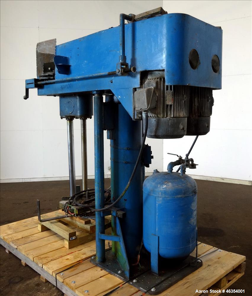 Used- Myers Dual Shaft Disperser, Model 550.