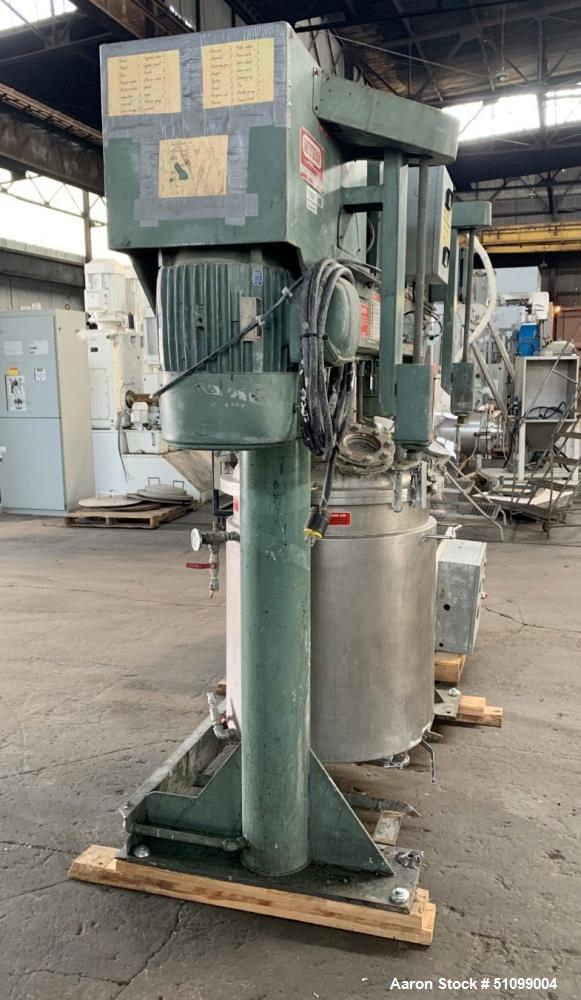 Used- Meyers Tri-Shaft Series Combination Disperser-Mixer