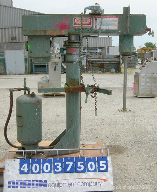 "Used- Myers Disperser, Model 775-5. 1 1/ 2"" diameter x 25"" long 301 stainless steel shaft with a 7"" diameter 301 stainless s..."