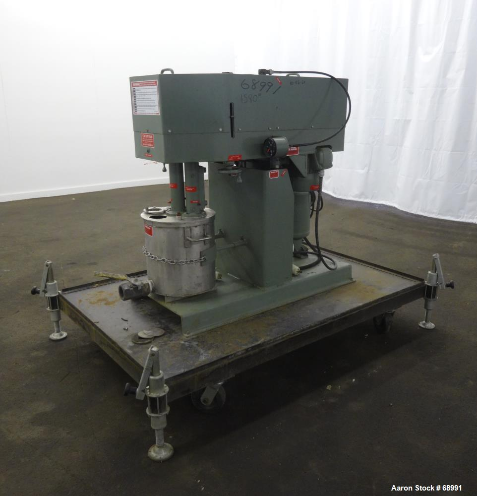 Used- Myers Engineering Triple Shaft Mixer, Model