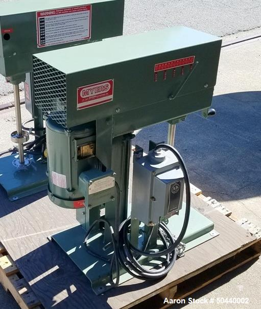 Used- Myers Dispersion Mixer, Model LB775-1