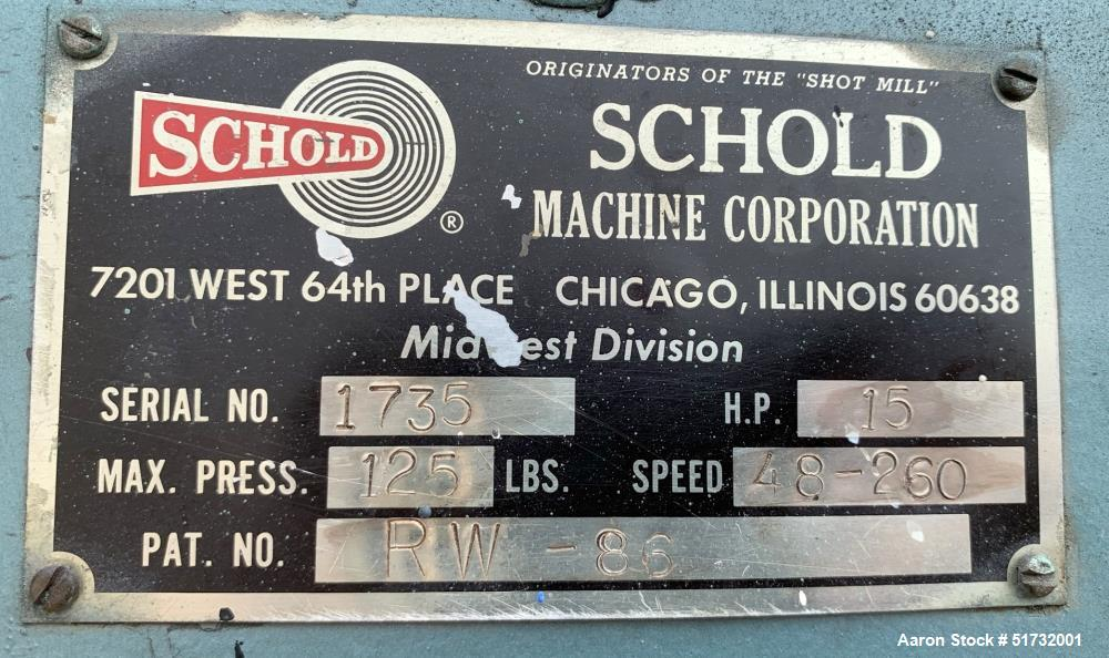 Schold VLS-400 Slow Speed Disperser