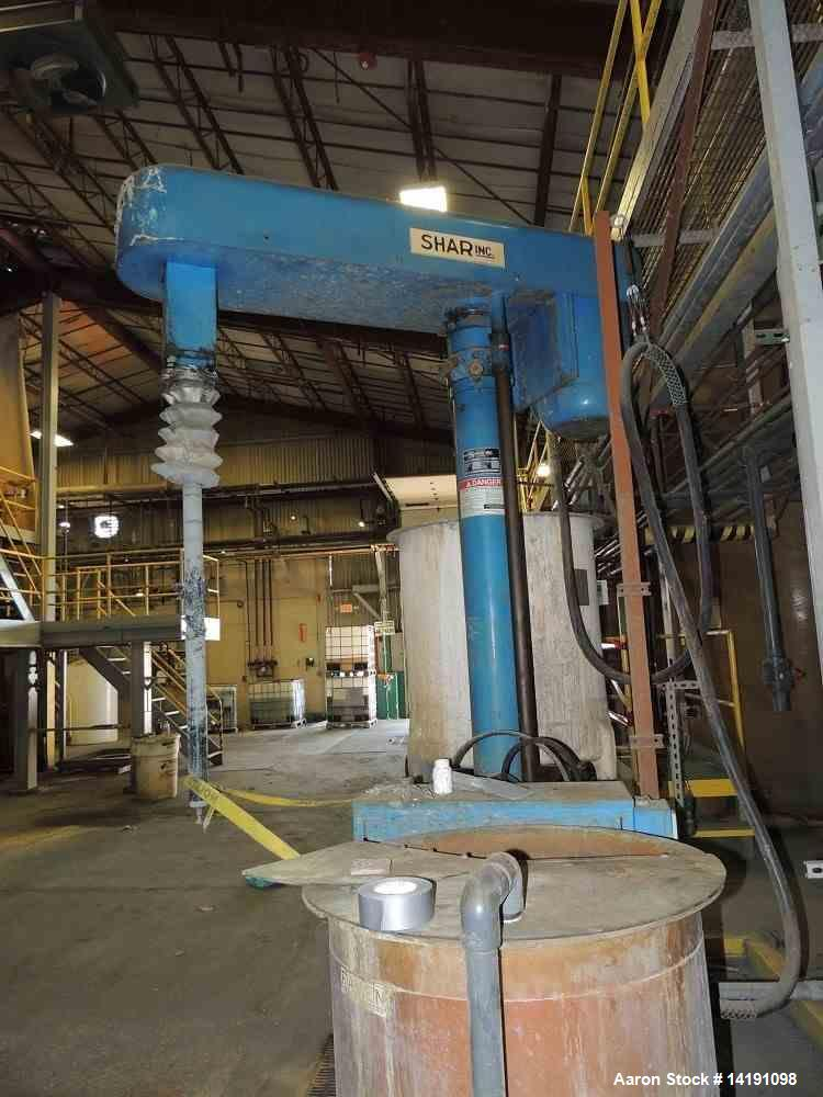 Used- Shar Dispersion Mixer, 40 HP