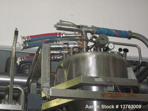 Used-Stephan TC 300 Universal Mixer/Cooker, stainless steel construction, drum size 79 gallons (300 liters), batch size 26-5...