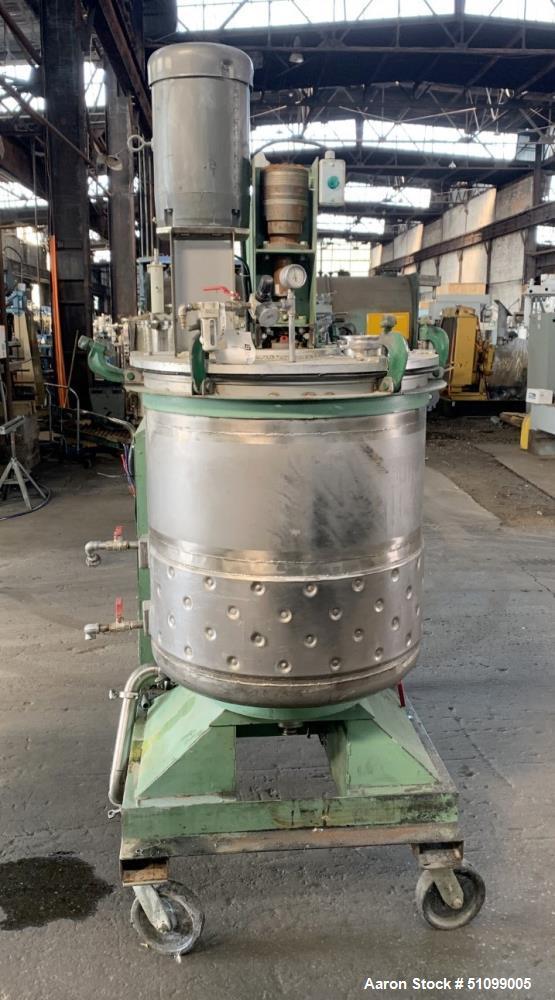 Used- 95 Gallon Twin Motion Vacuum Mixer
