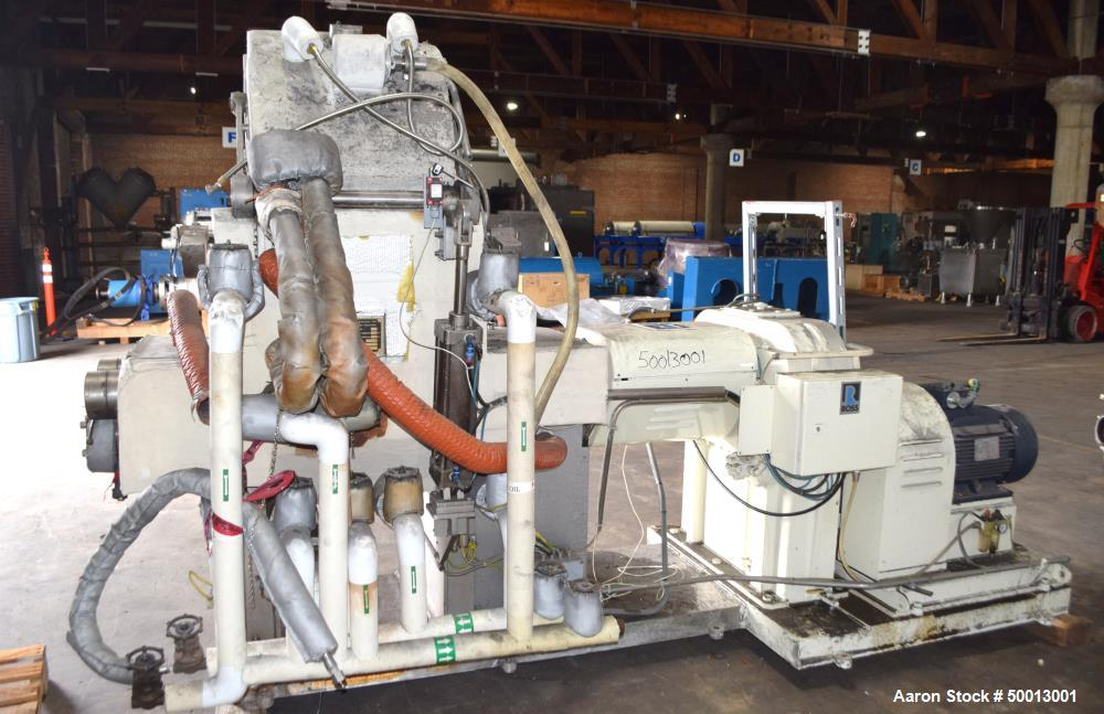 Used- Ross AMK Kneader Extruder, Double Arm Sigma Blade Mixer