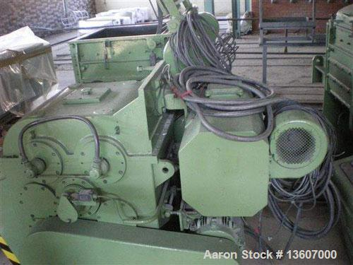 Used-AMK mixer/extruder, type VI U160 IIV. Material of construction is 304/321 stainless steel on product contact parts. Jac...