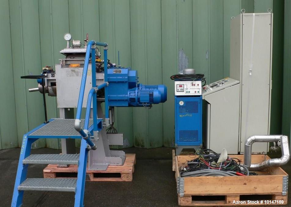 Used- AMK Mixer/Extruder, Model VIU20IV
