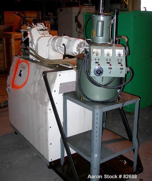 Used- Baker Perkins/Guittard Lab Size Mixer Extruder, Model LEX8